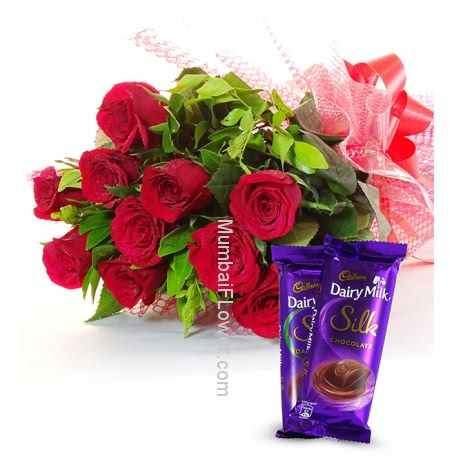 Dairymilk Silk and Bouquet