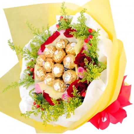 Chocolate Bouquet 5584
