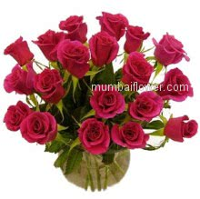 Bunch of 20 Red Roses to say your special one I love you.