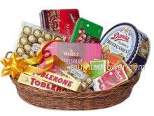 Everyone likes chocolates to make them happy just send them this Basket of Chocolates and express your love feeling.