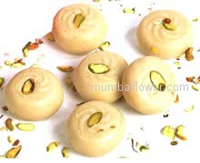 Rich Malai Peda Mithai specially made from fresh malai 1 Kg.