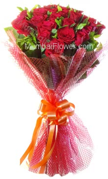 Bunch of 20 Valentine Red Roses specially for your love