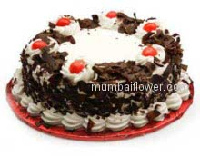 2 Kg. Black Forest Cake from 5 Star Bakery. Please Order 1 Day in advance. send for your special occasion.  Please note: This item is not available in small cities / remote locations.