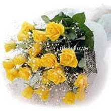 Yellow roses are always symbol of honesty and friendship