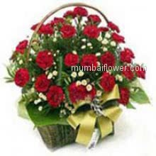 Make the day special of your loved one and say Happy Birthday with the Basket of 30 Red Roses for your loved ones nicely decorated with Ribbons.