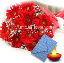 Half Kg Assorted Sweets with bunch of 10 Gerberas