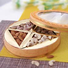 Designer Gift Box of Mixed Dryfruits with 250 gms of Dryfruits contains, Almonds and Cashew