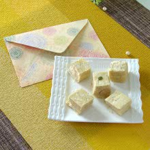 Special Festive Greeting Card with 500gms of Haldiram Soanpapdi Mithai