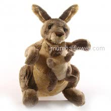 Stuff Toy Kangaroo with Baby Kangaroo best quality gift <br><br> Size: 10 Inch Height approximately.