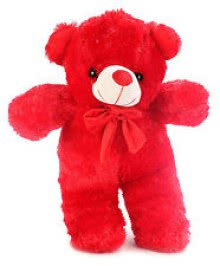Red Color Teddy Size 12 Inch approx