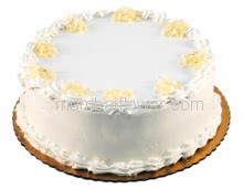 1 Kg. Vanilla Cake, a delicious and yummy treat. Send this Vanila Cake to your dear and near ones