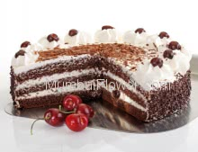 Send Yummy Black Forest Cake of Half Kg. to your sweetheart and feel him/her extraordinary feeling for his/her special occasion.