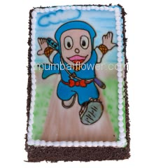 3 Kg. Delicious  Kids Chocolate Cake. Please order 1-2 Days in advance.