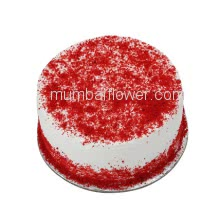 Egg Less 1 KG. Red Velvet Cake