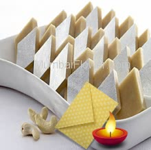 1 Kg. Kaju Katli Mithai with 1pc Diwali Greeting Card