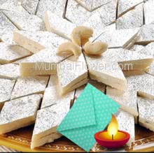 Half Kg. Kaju Katli with 1pc Diwali Greeting Card