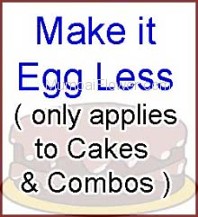 Make it Eggless Cake