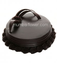 Half Kg. Premium Quality Death By Chocolate Cake, best in flavour and taste... Order 1 Day in advance. Please note : Cake icing may differ from shown picture.