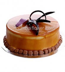 1 Kg. Delicious Caramel Chocolate Cake... Order 24 hours in advance. Please note : Cake icing may differ from shown picture.