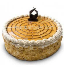 1 Kg. premium quality Butter Scotch Cream Cake, best in taste and flavour