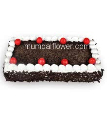 3 Kg. Creamy and Delicious Black Forest Cake, best in quality and taste... Order 24 hours in advance. Please note : Cake icing may differ from shown picture.