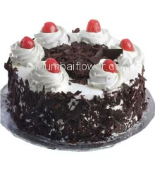 Half Kg. Best Quality Black Forest Cake for Birthdays , Anniversary or any occasion