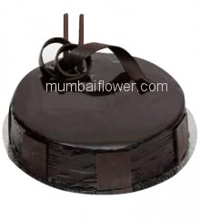 Half Kg. Premium Dark Chocolate Cake, best quality and taste...  Order 1 Day in advance. Please note : Cake icing may differ from shown picture.