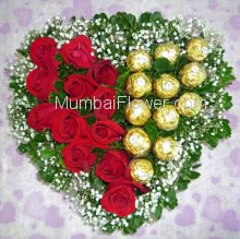 Heart of Chocolate n Roses