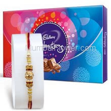 Big Cadbury Celebration 172gm. with 1pc Rakhi, Send Raksha Bandhan Gift Combo Online. Please note : Rakhi Design / Basket / Boxes /  Container may be replaced in case of unavailability/out of stock.